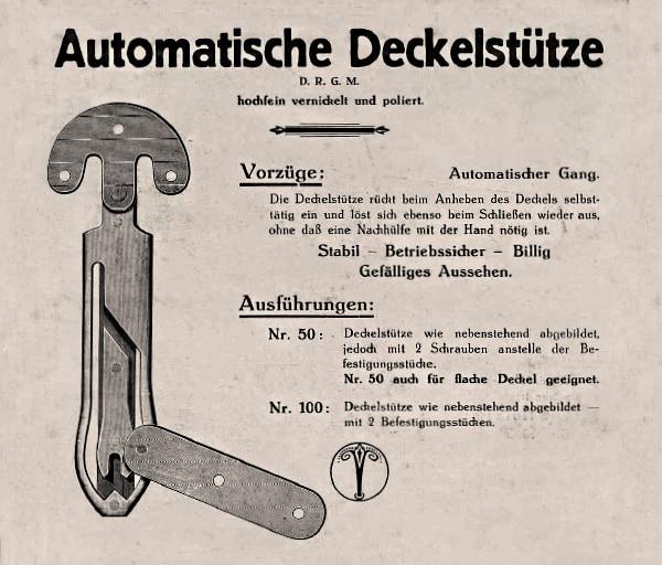 Umformteile im Jahr 1936