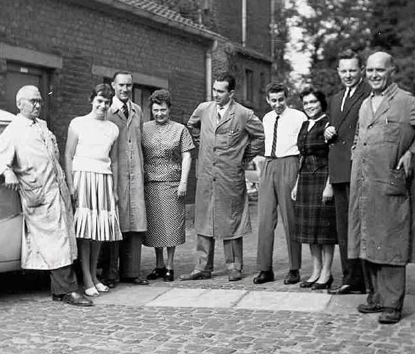 Firmenfoto aus dem Jahr 1960