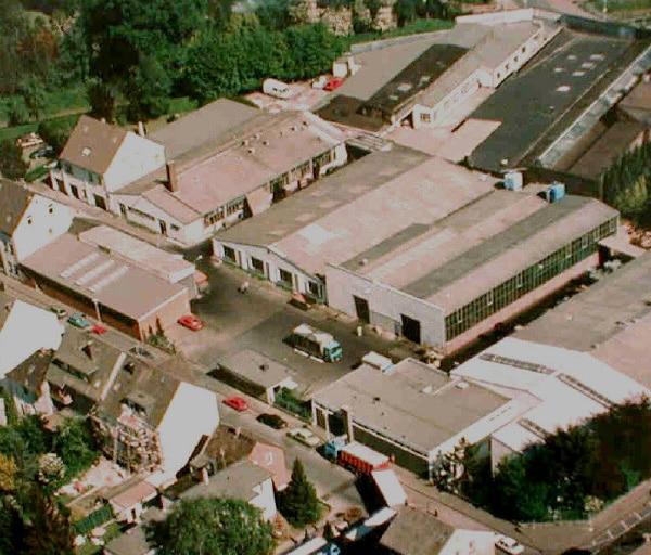 Brünninghaus und Drissner im Jahr 1988