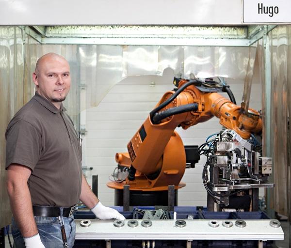 Roboterarbeitsplatz